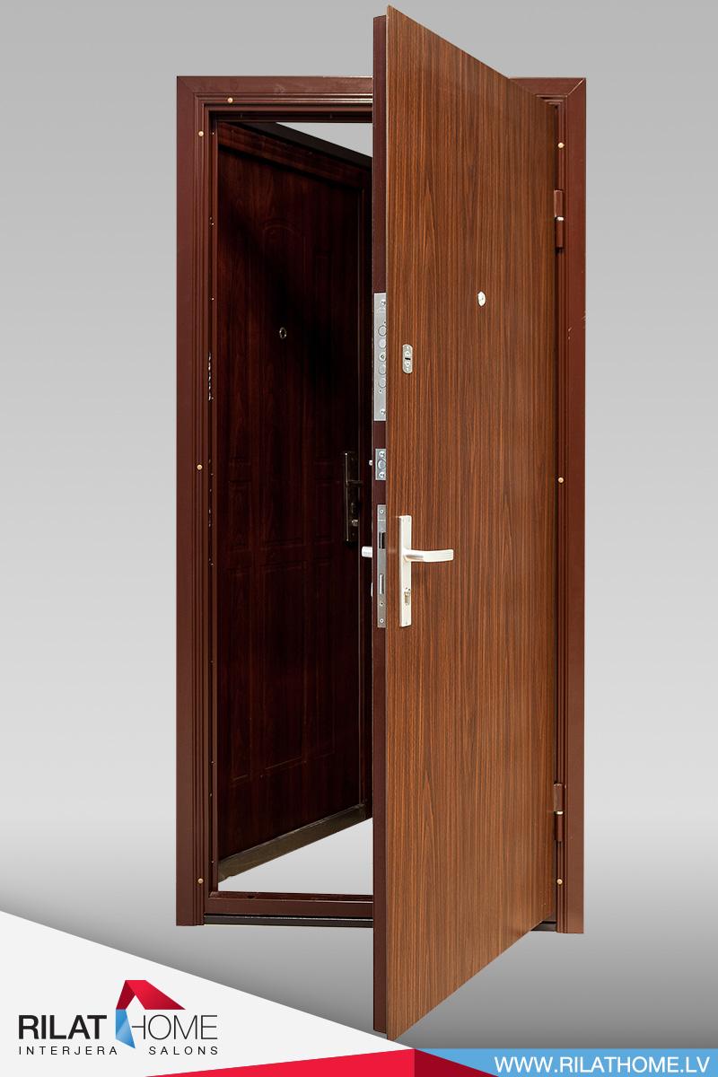 Metāla durvis no trubām