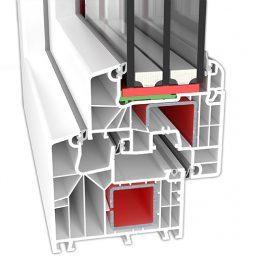 Plastikāta logi | PVC logi